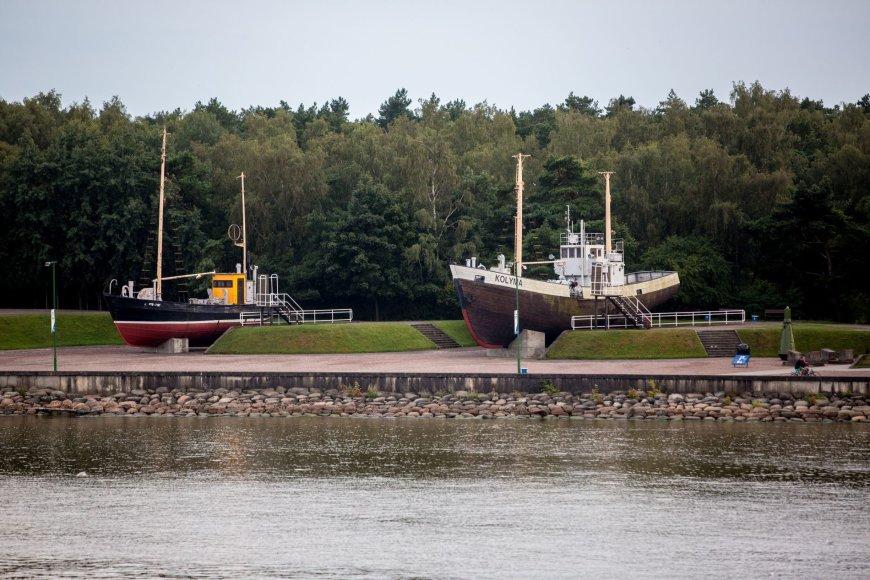Lietuvos jūrų muziejaus eksponatai