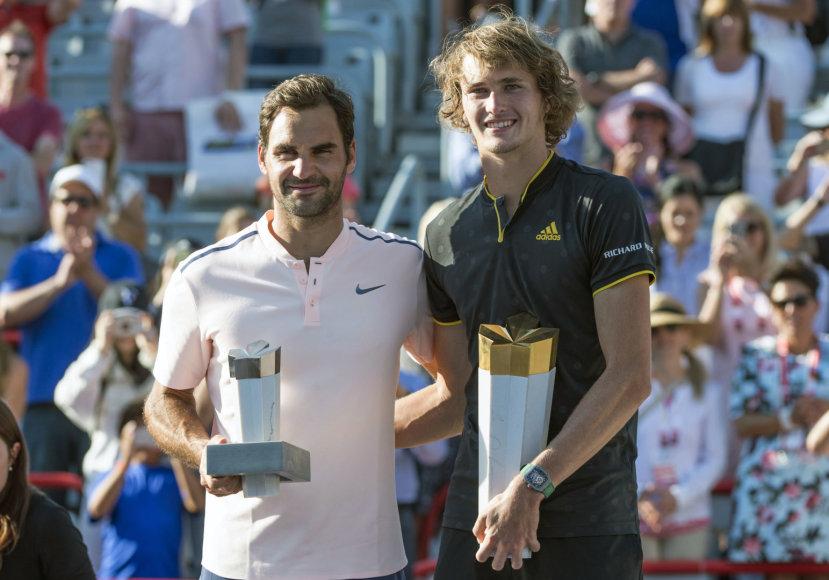 Rogeris Federeris ir Alexanderis Zverevas