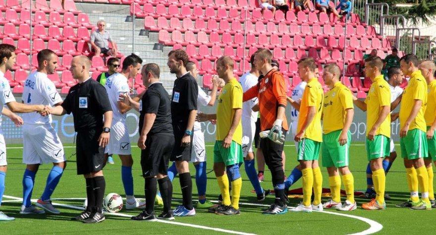 Lietuvos mažojo futbolo rinktinė Europos čempionate