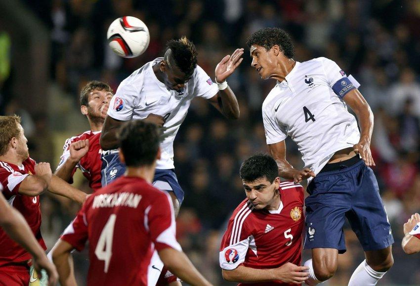 Armėnijos ir Prancūzijos rungtynės