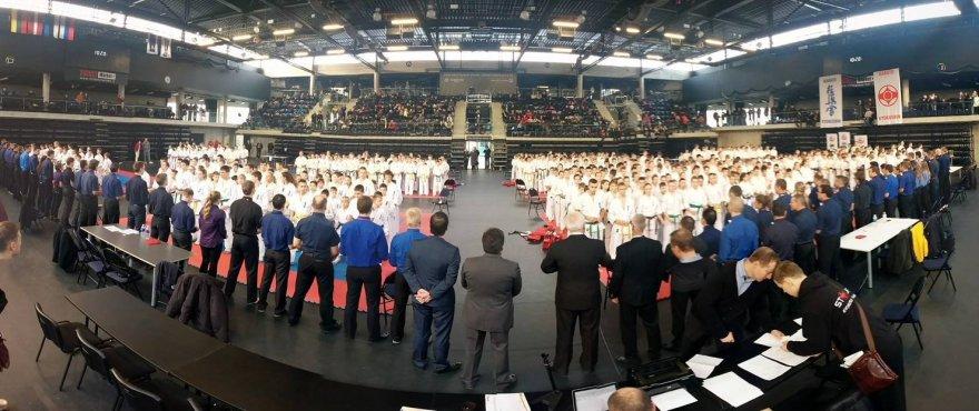 Kiokušin karate varžybose dalyvavo apie 700 karatistų