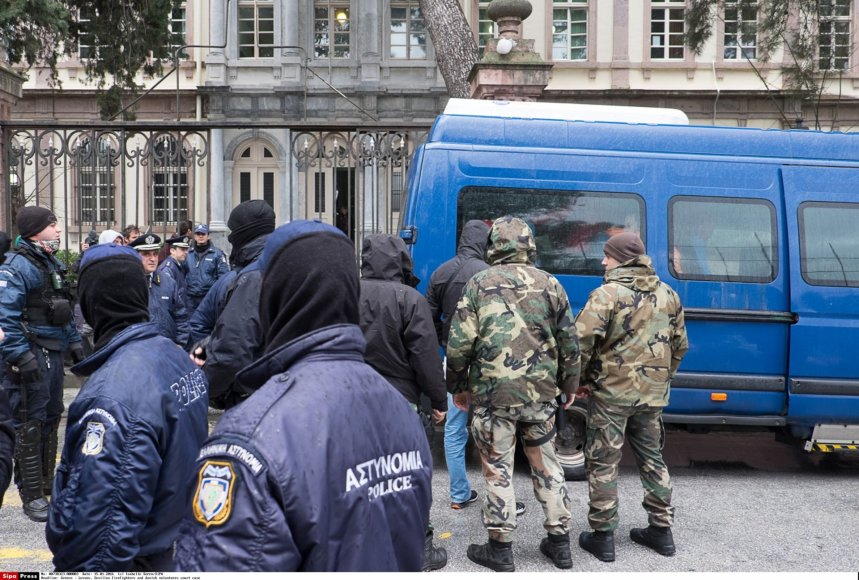 Graikijos policijos pareigūnai