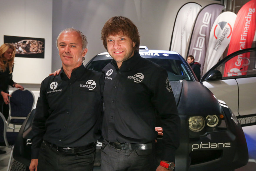 Andrejus Rudnickis ir Benediktas Vanagas