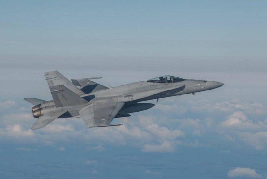 Baltijos regiono karinių oro pajėgų treniruotė