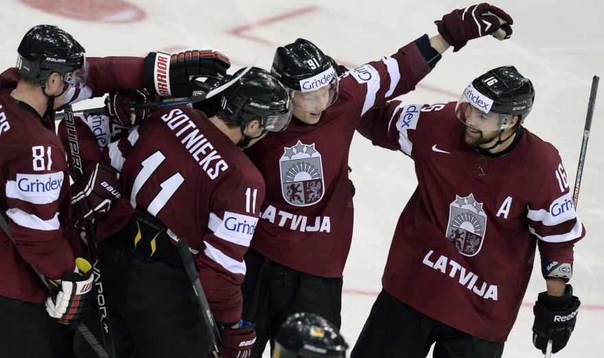 Latvijos ledo ritulio rinktnė