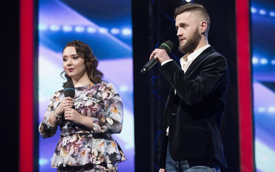 Viktoras Kulakovas ir Karina Borucha