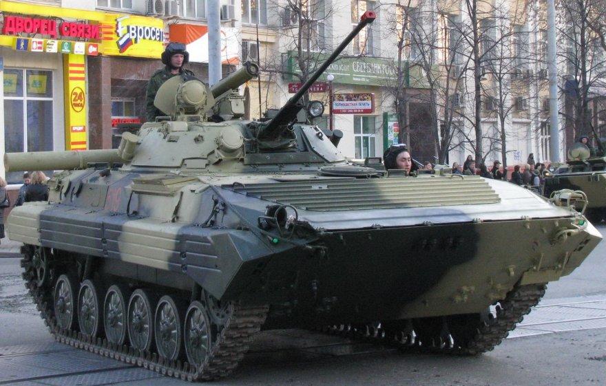 Rusijos armijai teks verstis su senoviškomis BMP