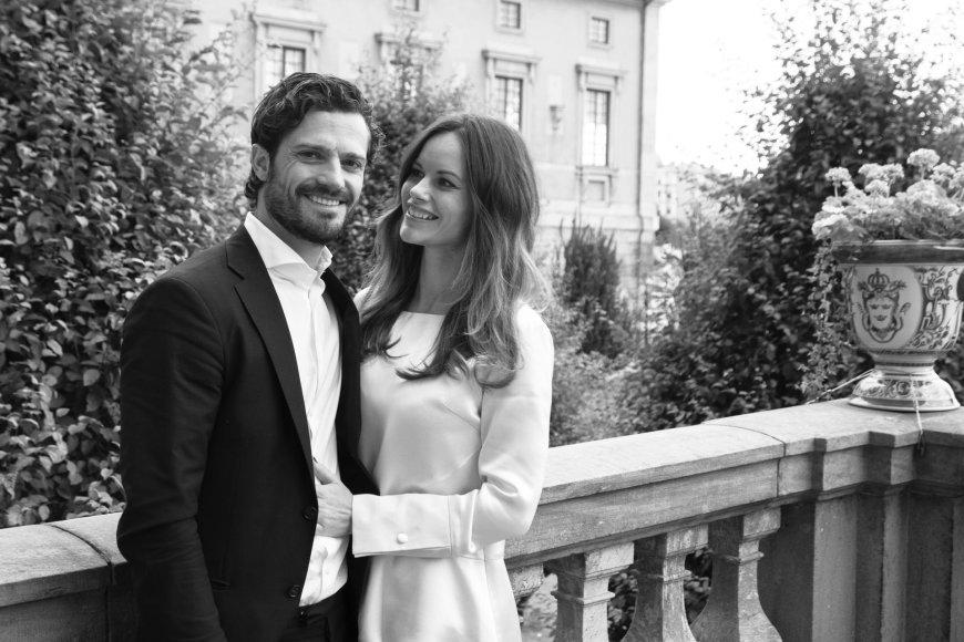 Švedijos princas Carlas Philipas su žmona Sofia