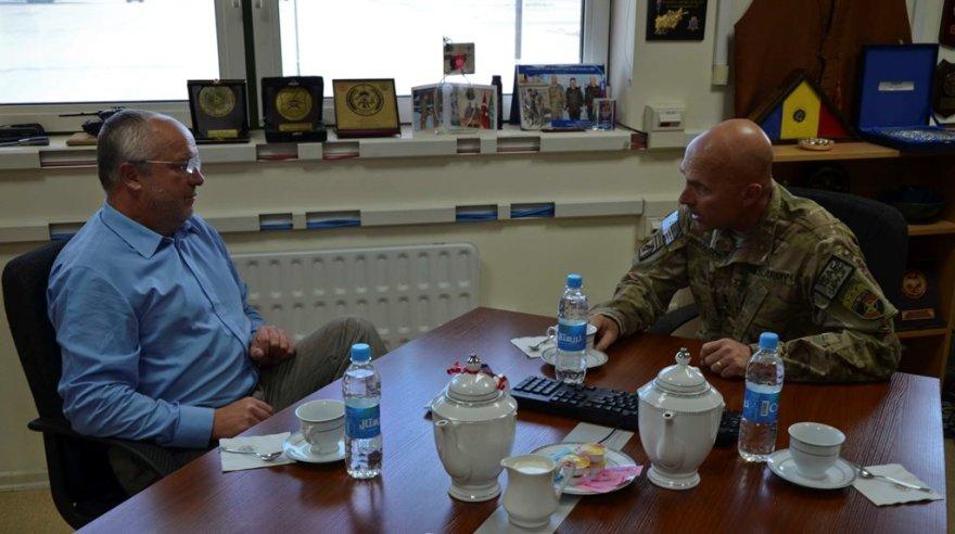 Juozas Olekas aplankė Afganistane tarnaujančius Lietuvos karius