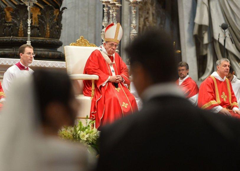 Popiežius Pranciškus sulaužė dar vieną tabu
