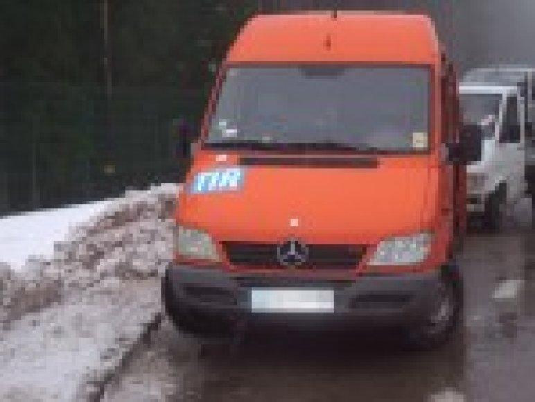 """Vogtas mikroautobusas """"Mercedes Benz Sprinter"""""""