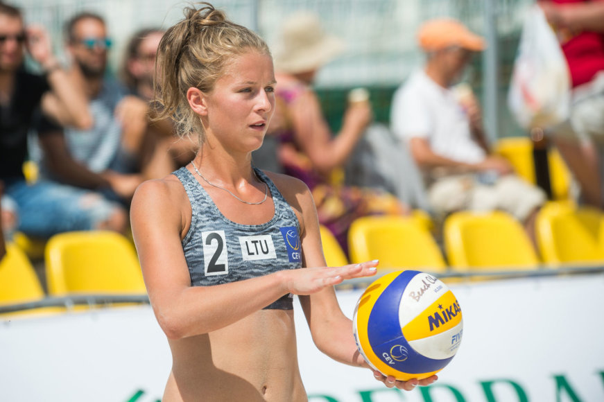 Paplūdimio tinklinio turnyras Vilniuje