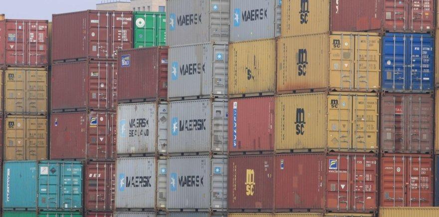 Į Klaipėdos uostą įplauks galingas konteinervežis.