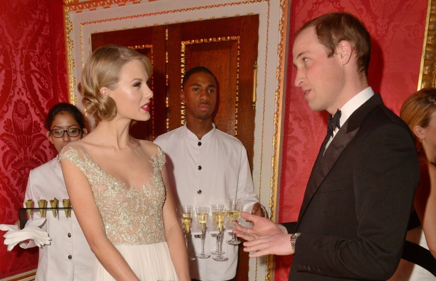 Taylor Swift ir princas Williamas