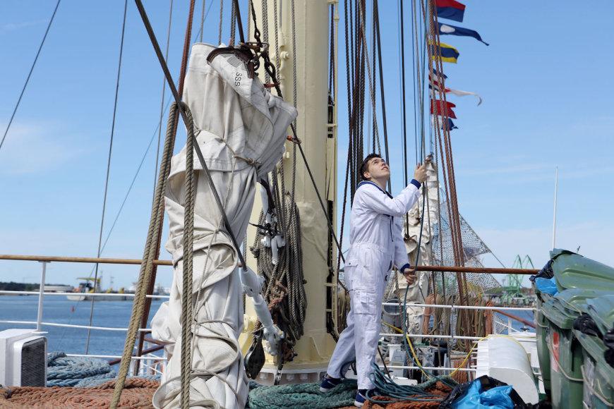 """Regata """"The Tall Ships Races"""" kviečia praktikantus į įgulas."""
