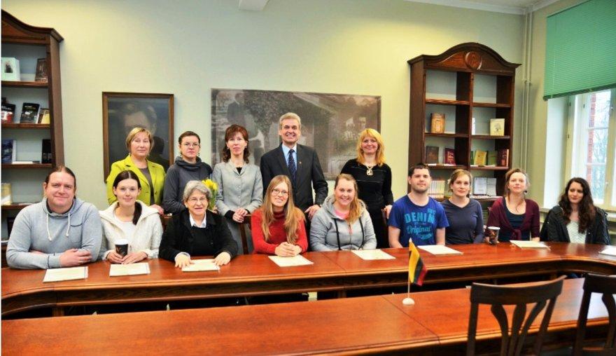 KU lietuvių kalbos mokėsi 9 užsieniečiai