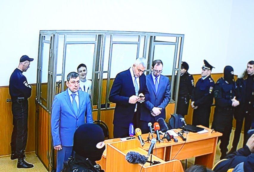 Teismo nuosprendžio paskelbimas Nadijai Savčenko