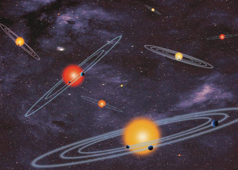 Planetų sistemos (asociatyvi nuotr.)