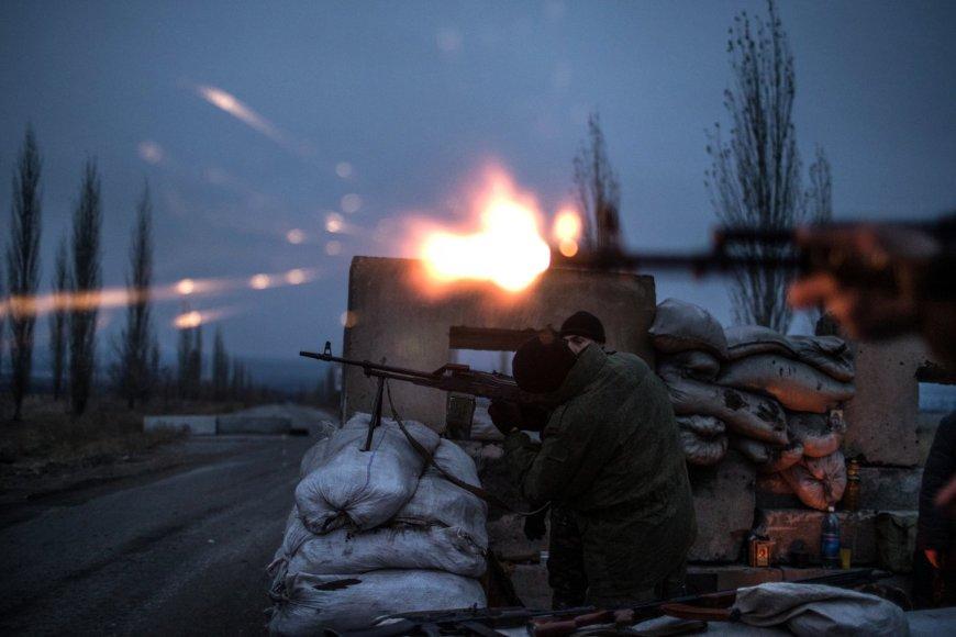 Luhansko teroristų kontroliuojama teritorija