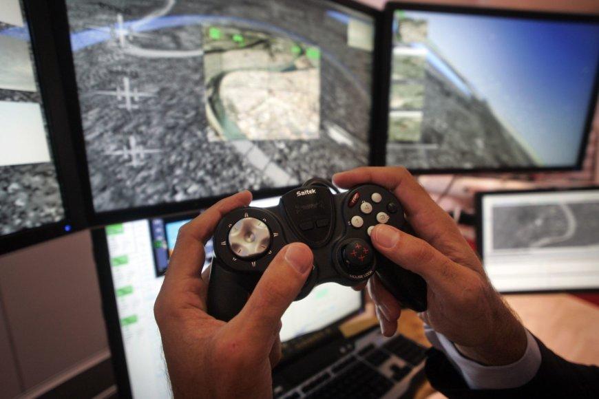 Drono kontrolės punktas