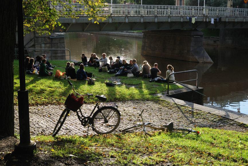 Turku / Aura upės pakrantė
