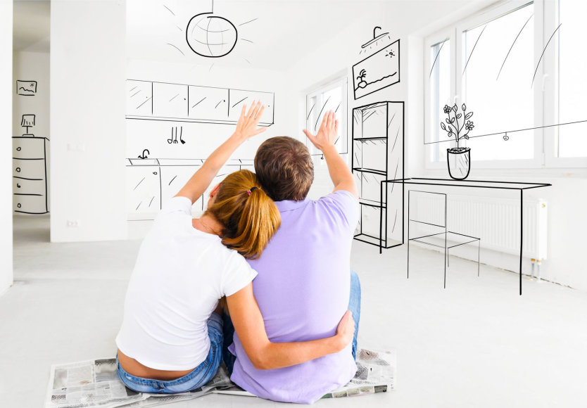 Pora planuoja būstą