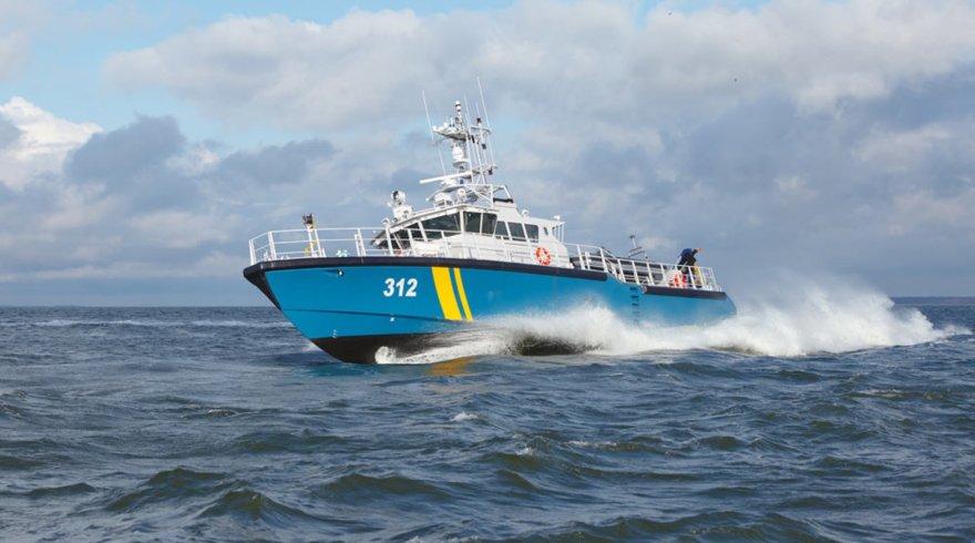 Lietuvos pasieniečiams Estijos bendrovė stato naujutėlaitį patrulinį laivą