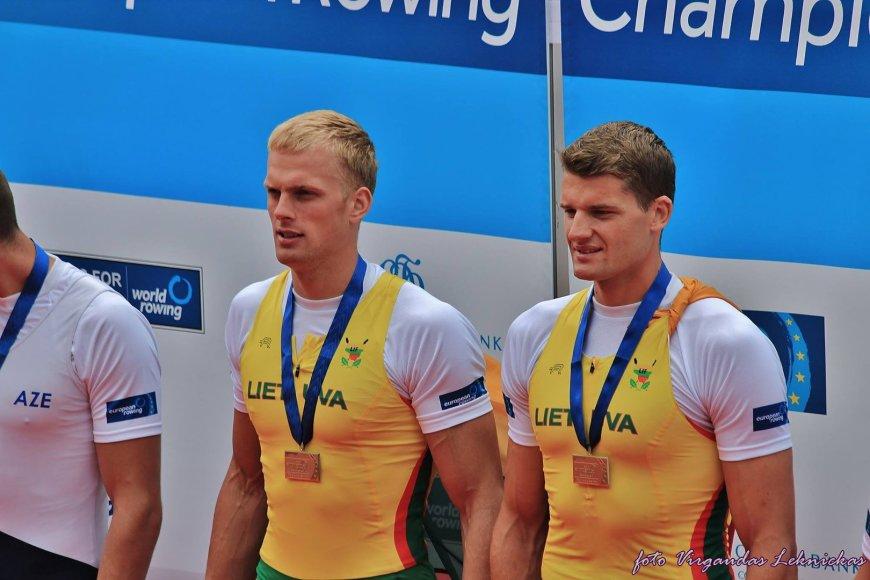 Saulius Ritteris ir Rolandas Maščinskas – 2014 m. Europos čempionai