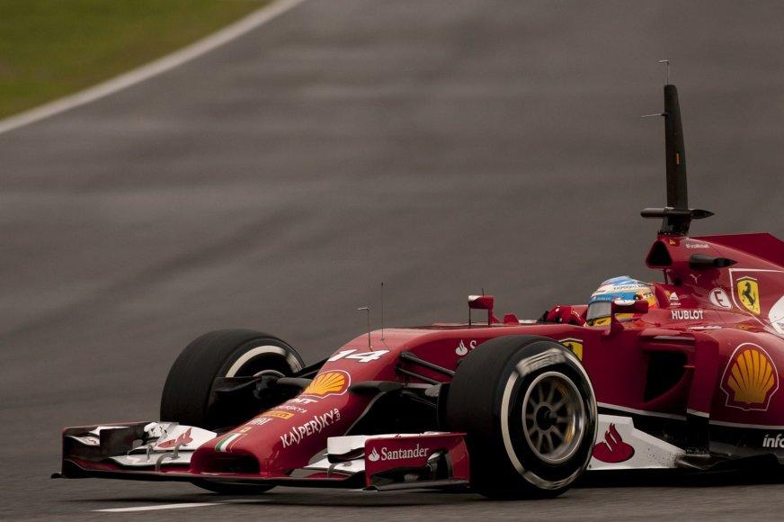 """Scuderia Ferrari"" bolidas"