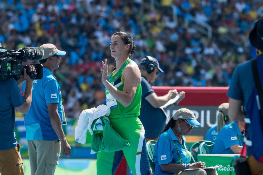 Zinaida Sendriūtė Rio olimpinėse žaidynėse liko dešimta