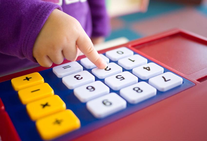Žaislinis skaičiuotuvas