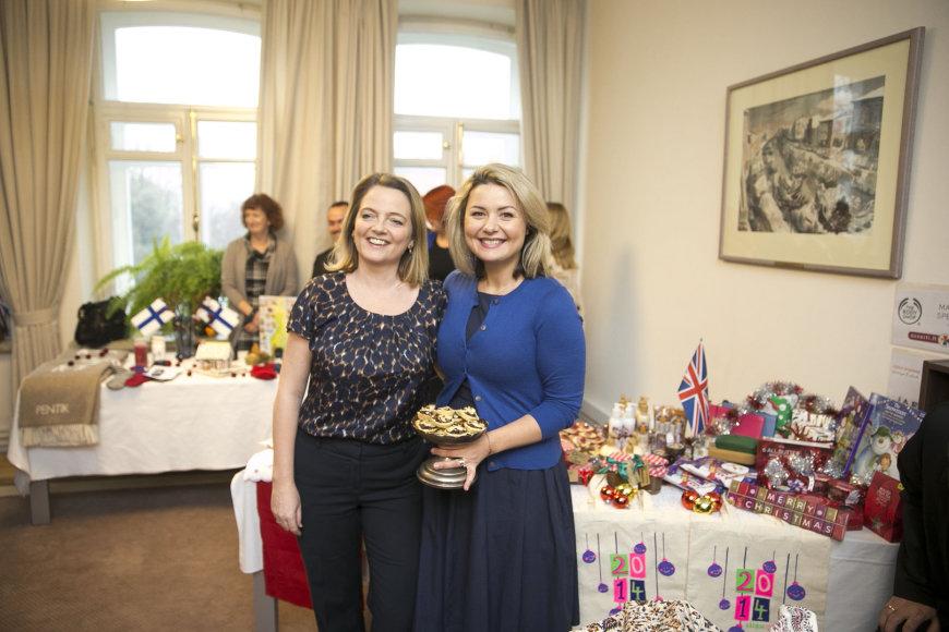 Sara Hunt ir Beata Nicholson