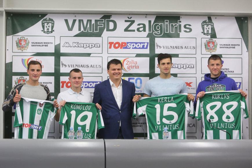 Egidijus Vaitkūnas, Pavelas Komolovas, Mindaugas Nikoličius, Semiras Kerla ir Mantas Kuklys