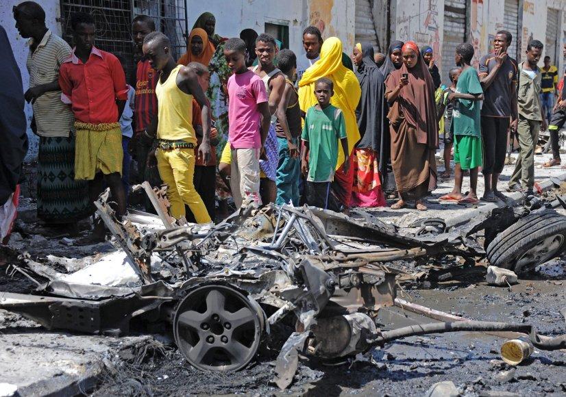 Sprogimas Mogadiše
