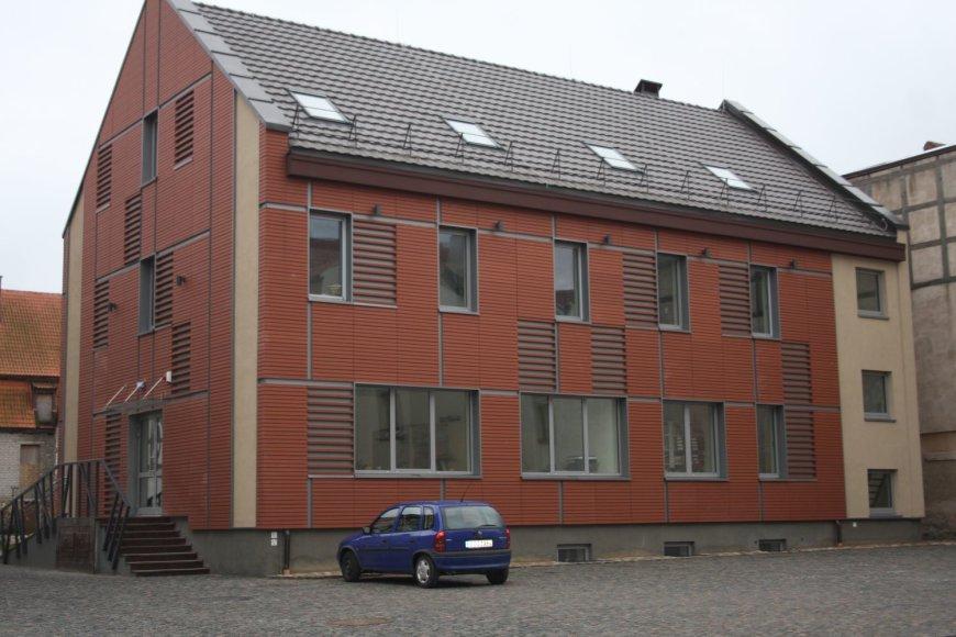 Mažosios Lietuvos istorijos muziejus turi naują saugyklos pastatą.