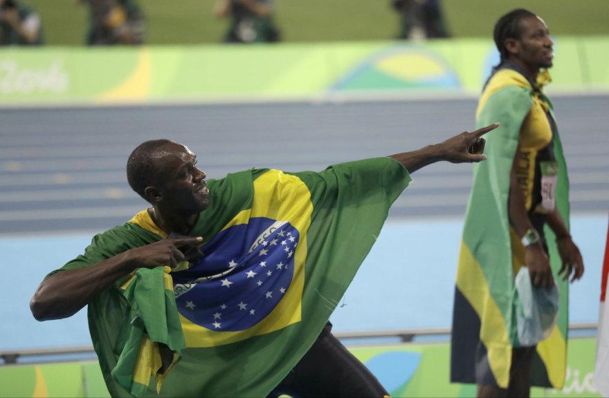 Tobula Usaino Bolto pabaiga: iškovotas ir devintas medalis