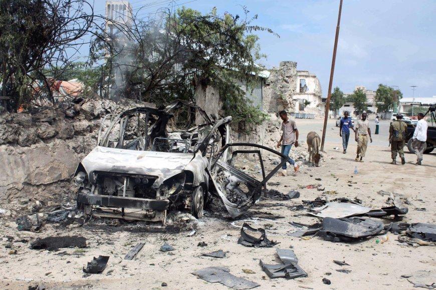 Islamistai kelia neramumus Somalyje