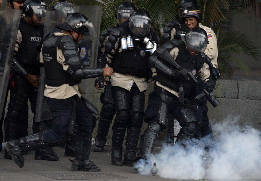 Venesuelos policija