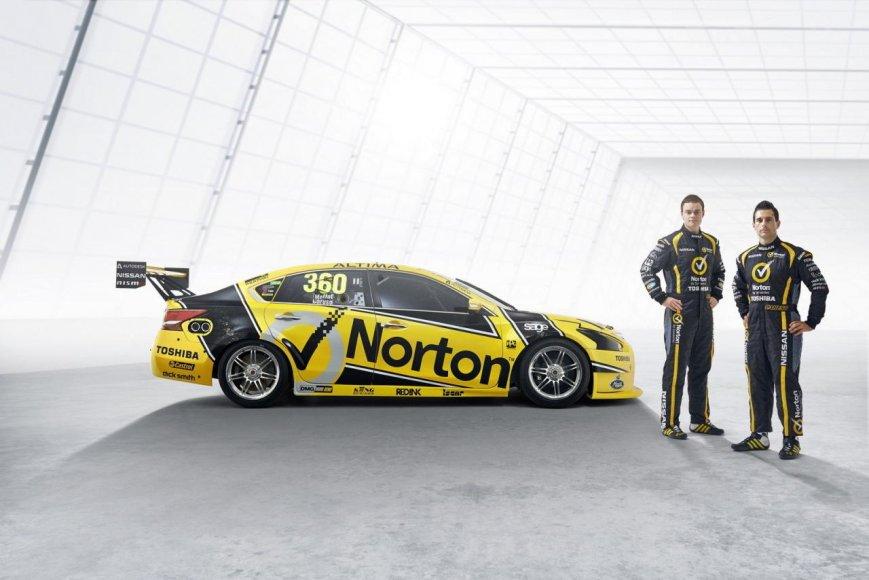 """""""Norton"""" komandos automobilis"""