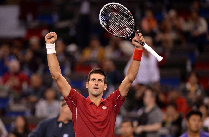 Novakas Džokovičius Kinijoje vykstančiose varžybose iškovojo 26-ą pergalę iš eilės