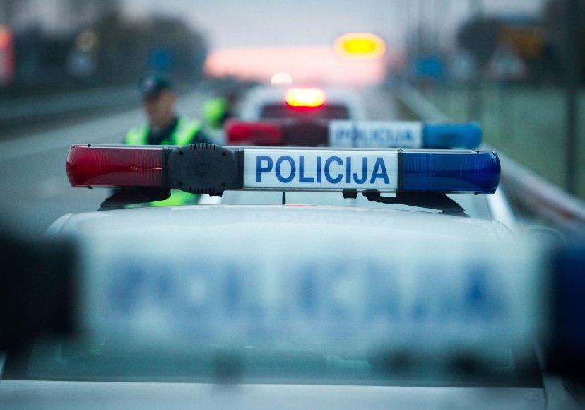 Vilniaus kelių policijos reidas