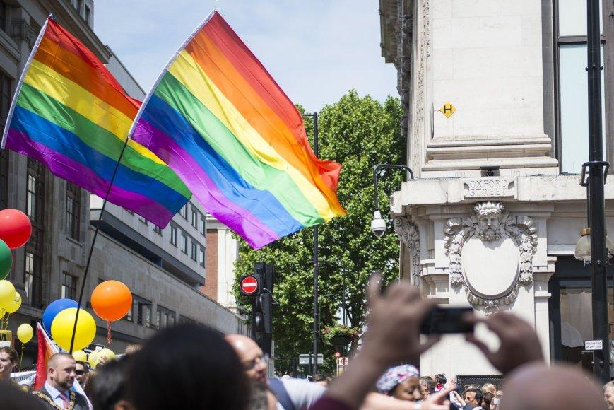 Lietuva atsidūrė sąraše, į kurią homoseksualiems turistams nepatariama važiuoti