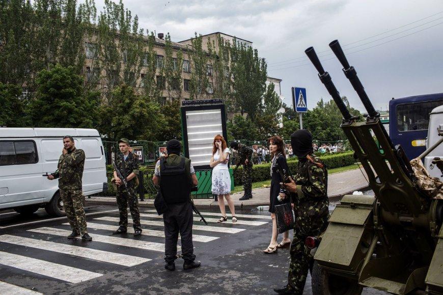 Donecko gatvėje
