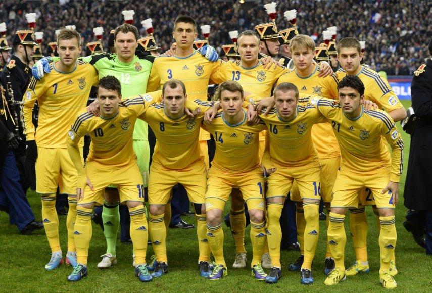 Ukrainos futbolo rinktinė