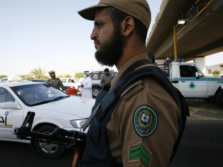Saudo Arabijos policininkas