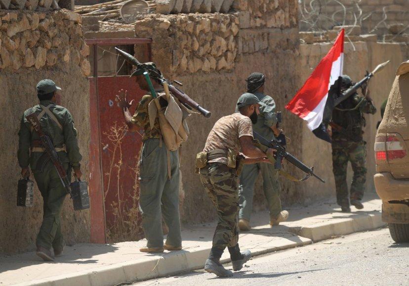 Irako kariai Tal Afaro mieste