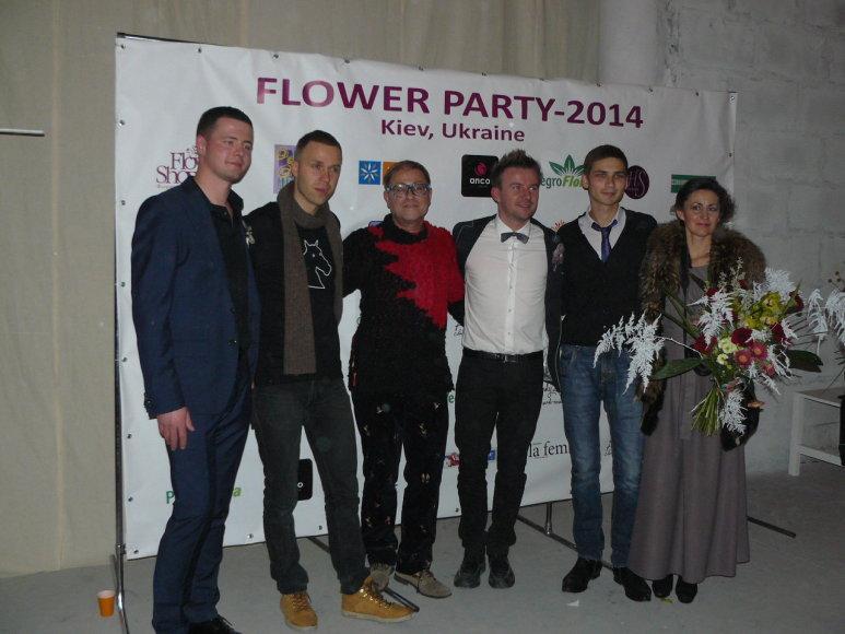 Sigutis Kaminskas (trečias iš kairės), Vitalijus Lipo (antras iš kairės)
