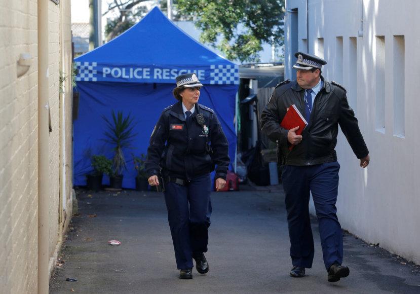 Australijos pareigūnai