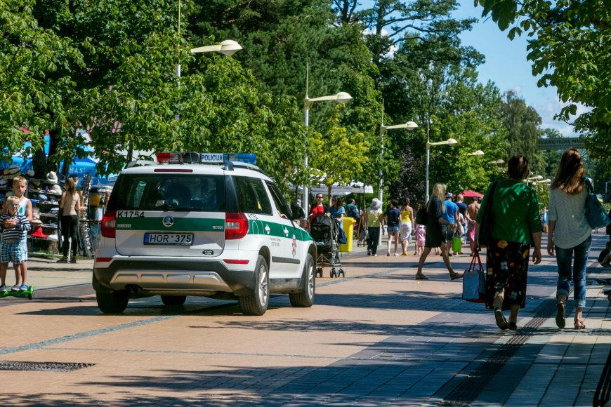 Policija Palangoje