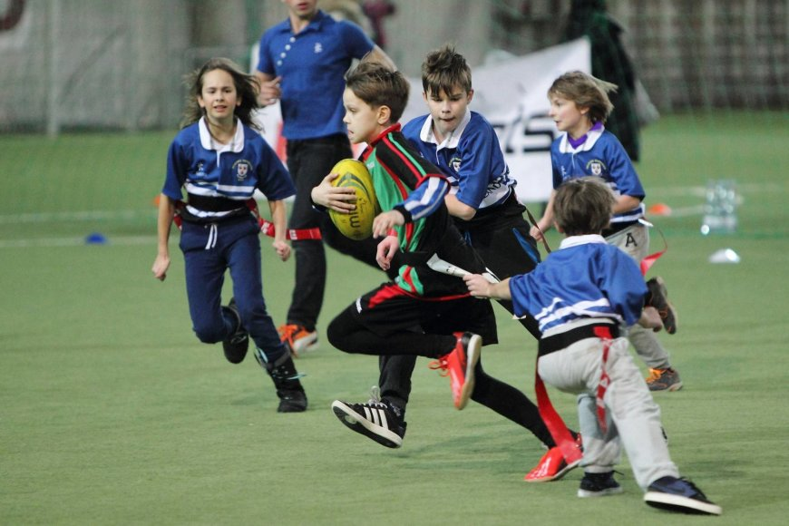 Jaunučių regbio varžybos